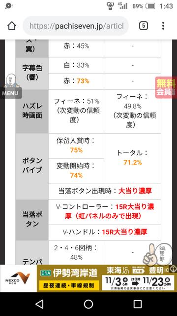 最終決戦 入賞時レバブル